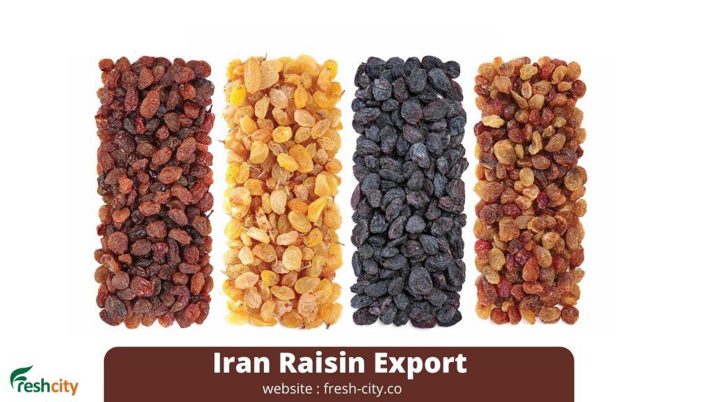 Iran Raisin Export