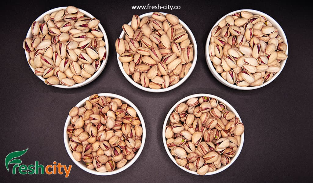 Iranian Pistachio Types